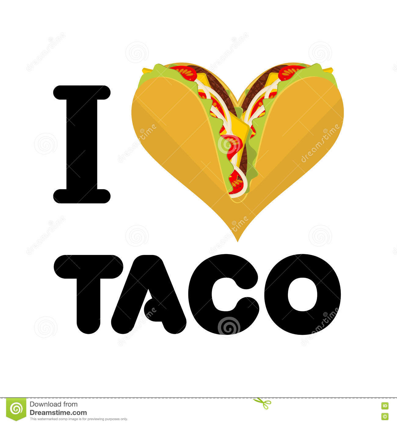 i love taco heart and traditional mexican food tortilla mexican restaurant logo images mexican restaurant logo design