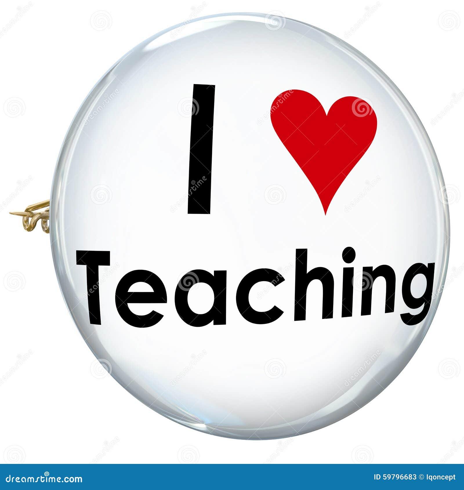 I love teaching heart button pin proud teacher school education i love teaching heart button pin proud teacher school education buycottarizona Choice Image