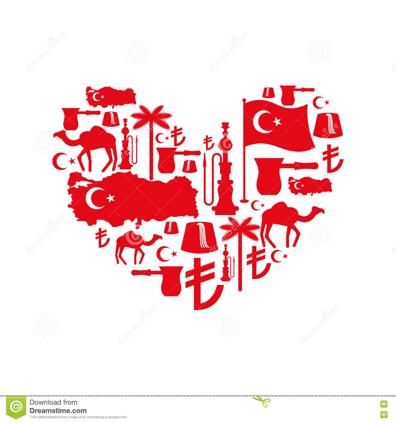 I love turkey sign heart of traditional turkish folk characters i love turkey sign heart of traditional turkish folk characters egyptian money buycottarizona Images