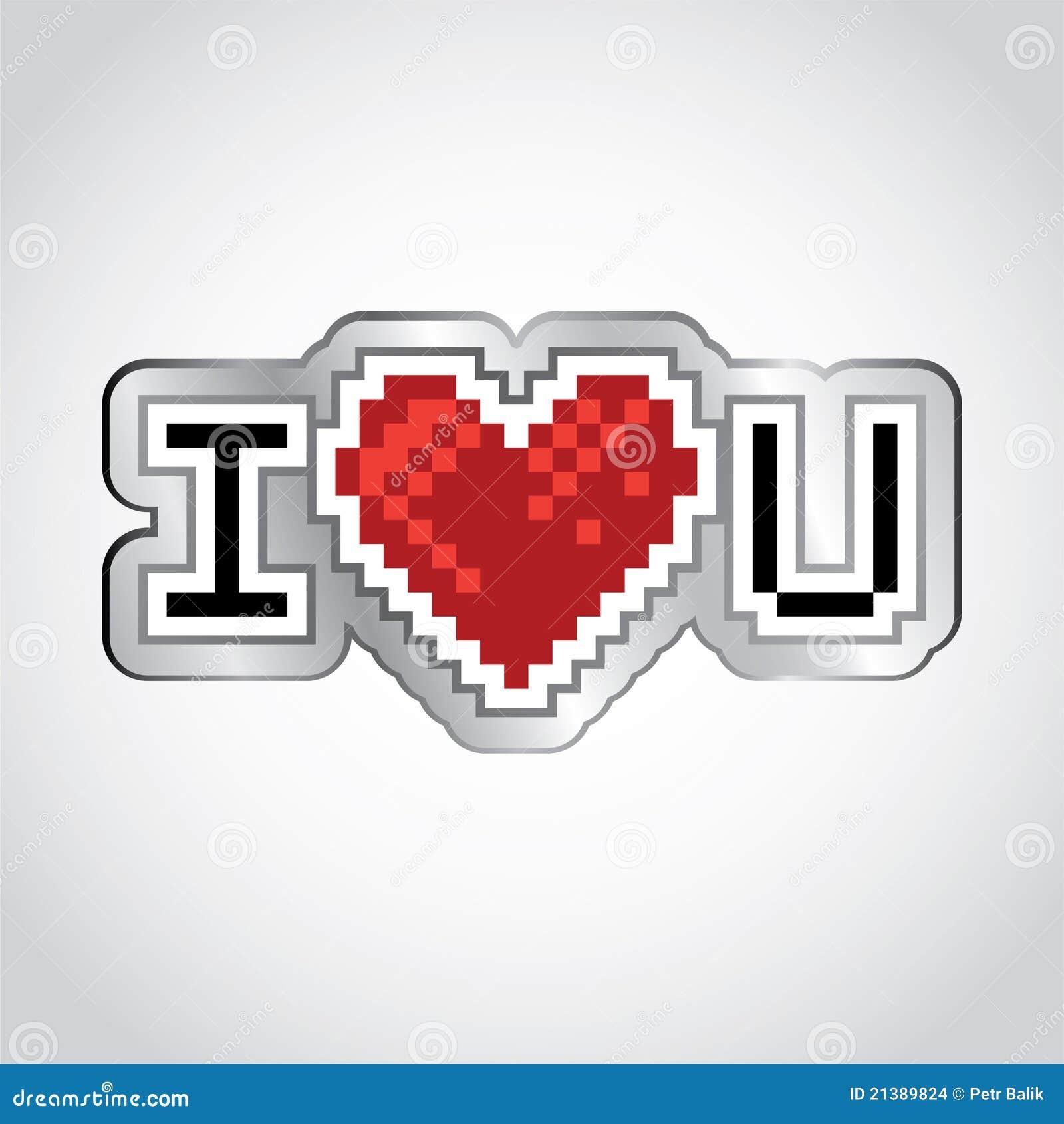 I Love You Stock Illustration Illustration Of Creative 21389824