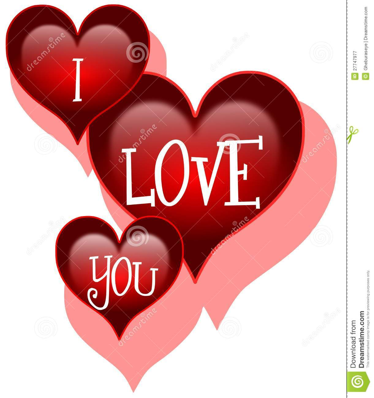 i love you stock image illustration of dating element 27747977