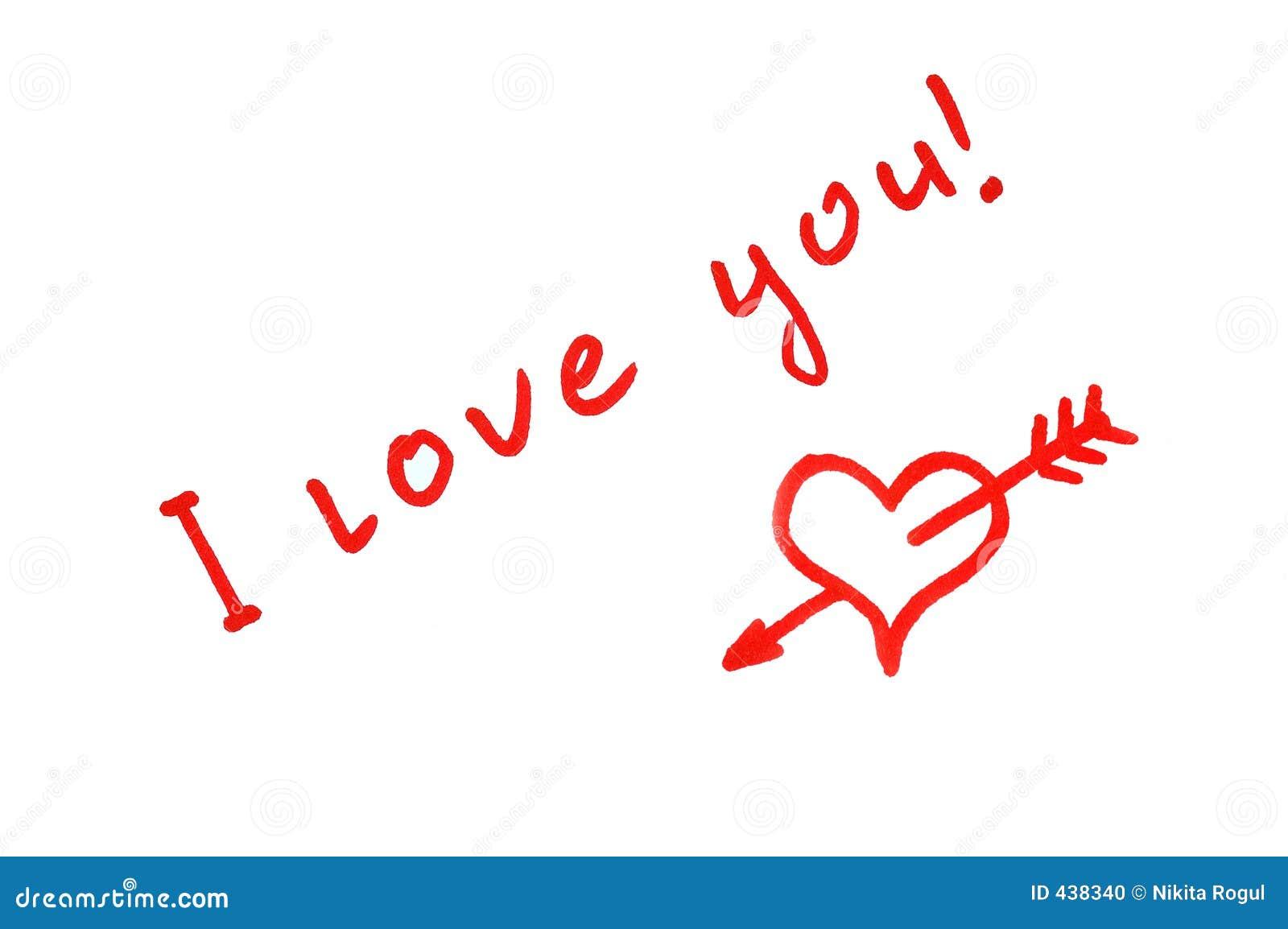Https Www Dreamstime Com Stock Photo I Love You Image438340