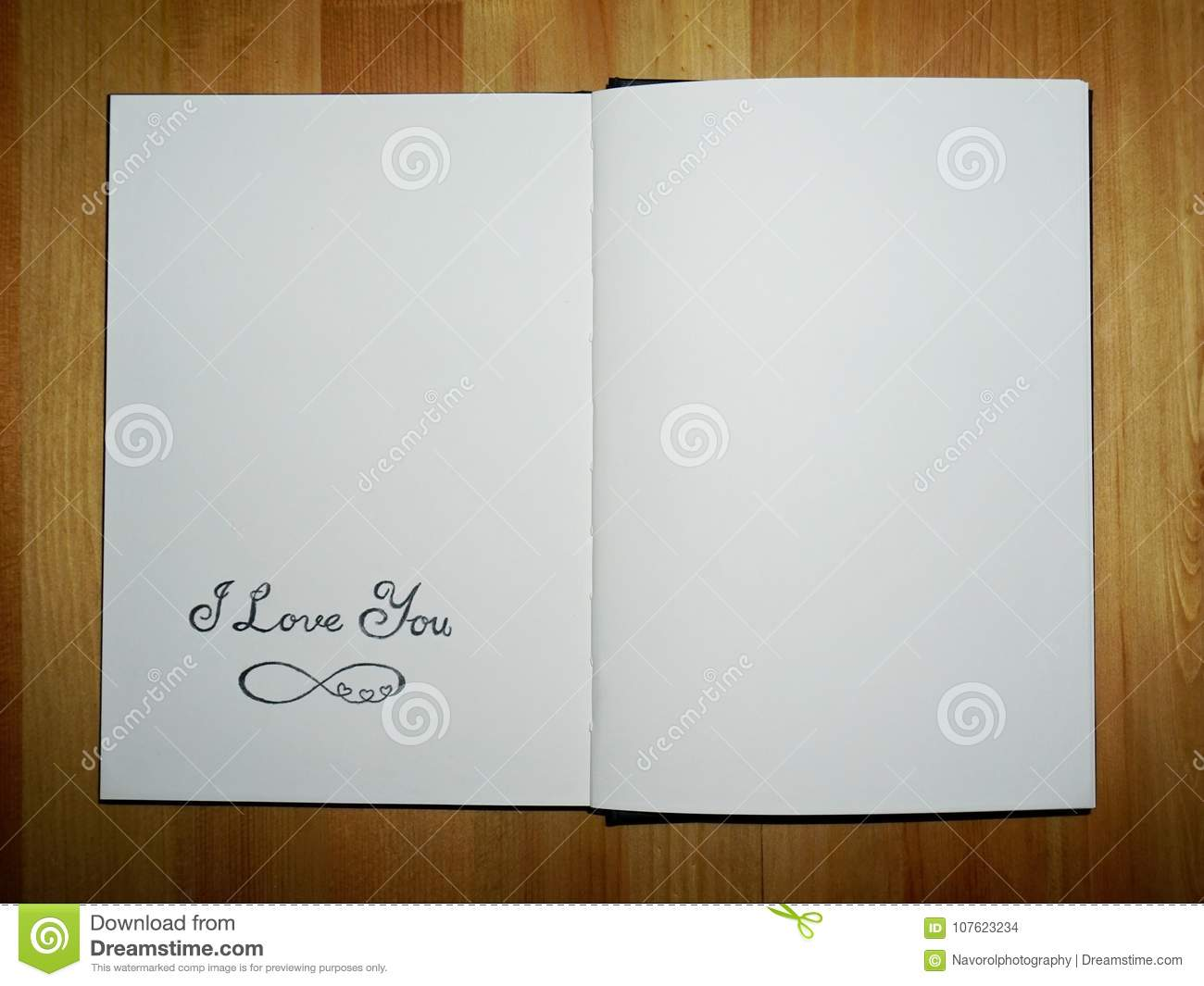 I love you and eternity symbol stock photo image of scrapbook i love you and eternity symbol biocorpaavc Images