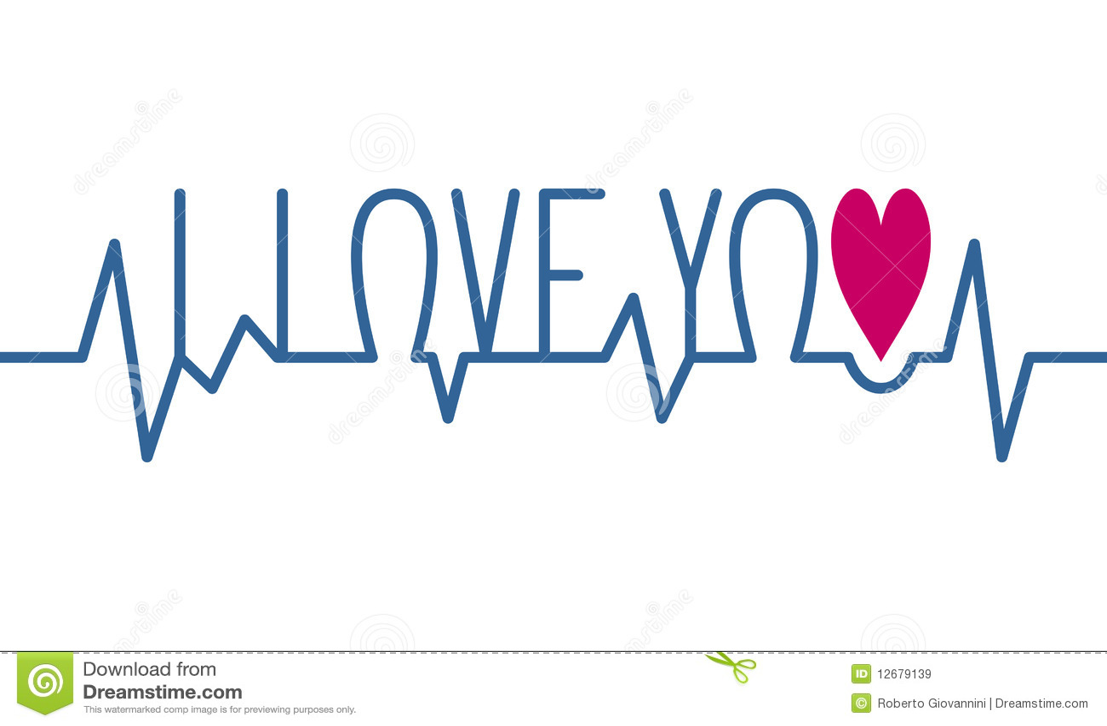 I Love You Imágenes De Stock I Love You Fotos De Stock: I Love You Heartbeat Royalty Free Stock Images