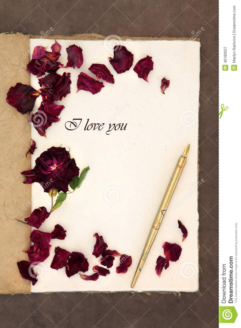 Red Ink Love Letter