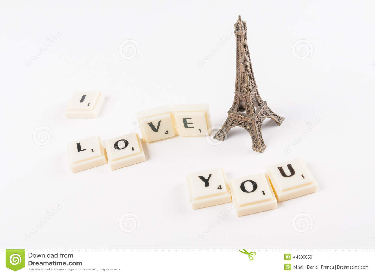 the letters blocks tiles from scrabble isolated photo of scrabble letters spelling i love you