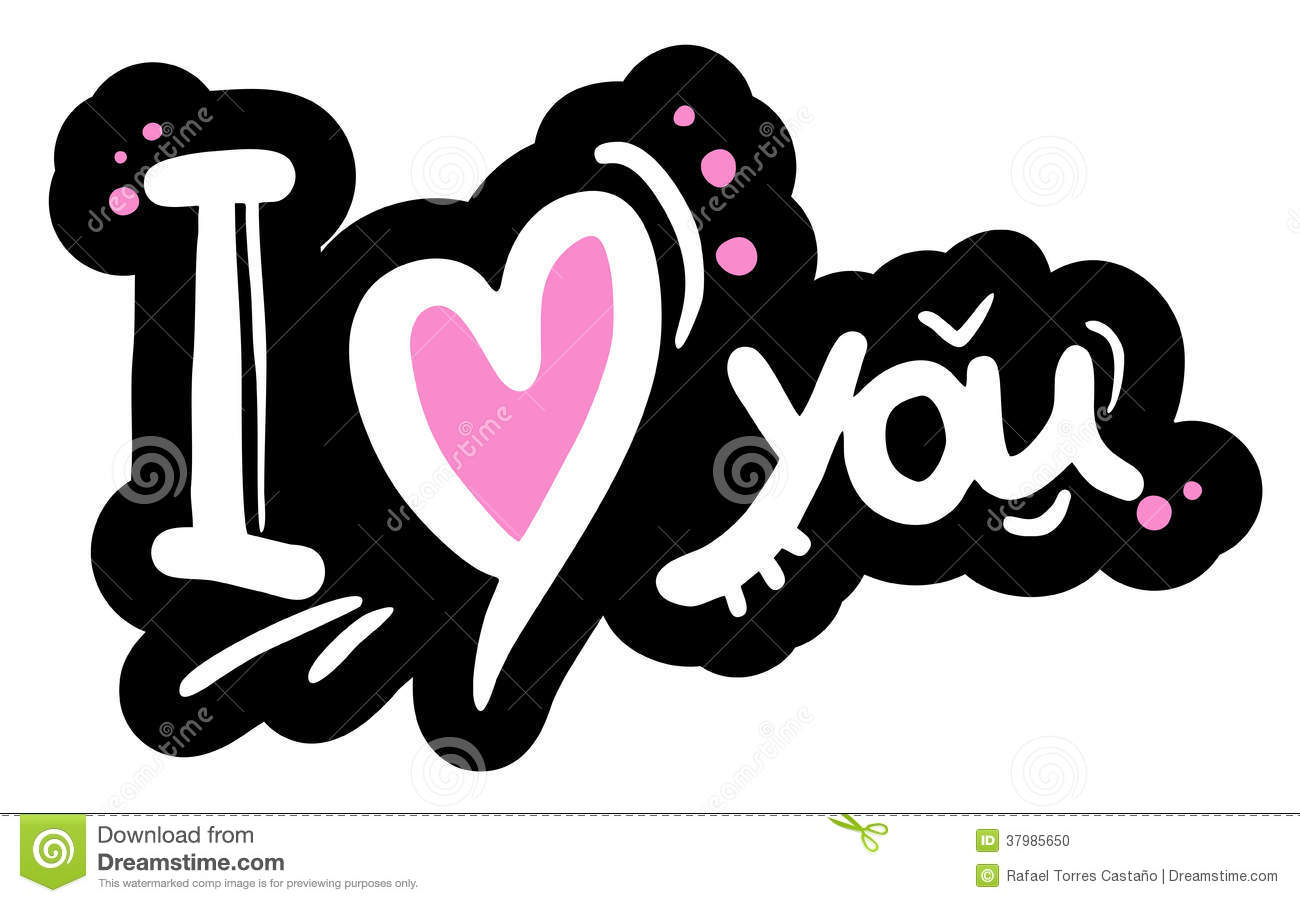 i love you message stock vector illustration of sweet
