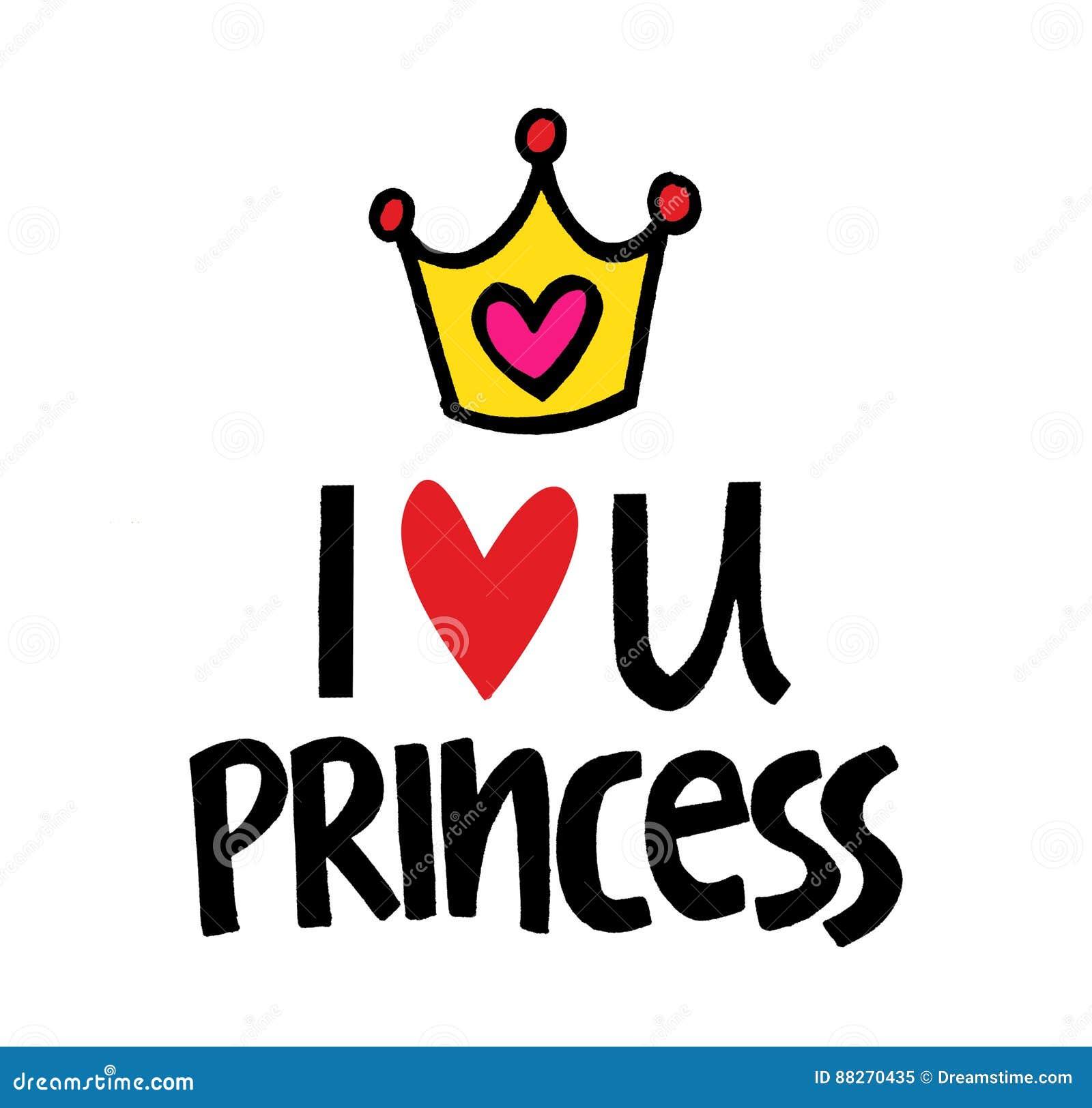 i love you my dear princess