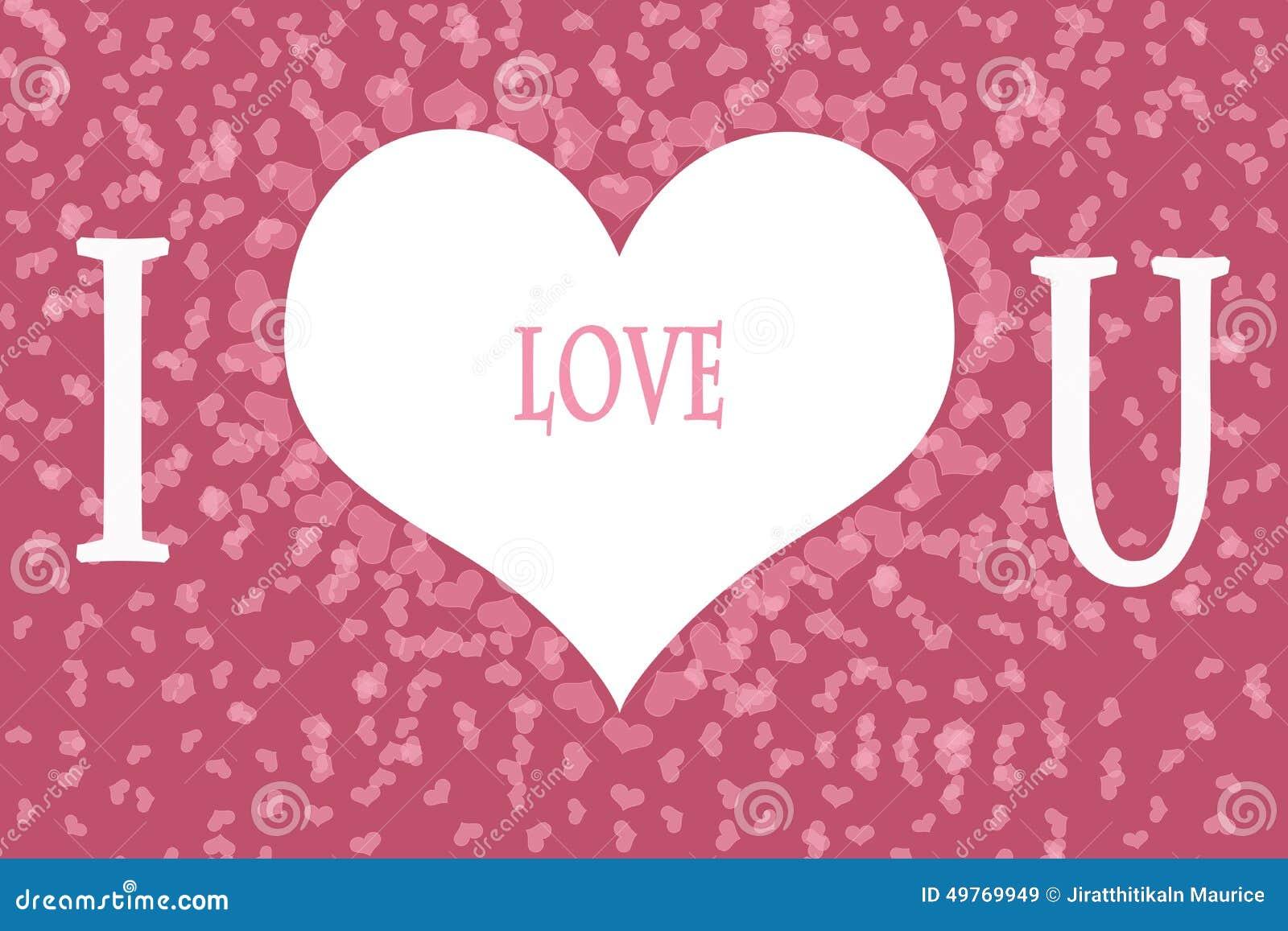 I Love You Imágenes De Stock I Love You Fotos De Stock: I Love You On Pink Heart Pattern Background Stock