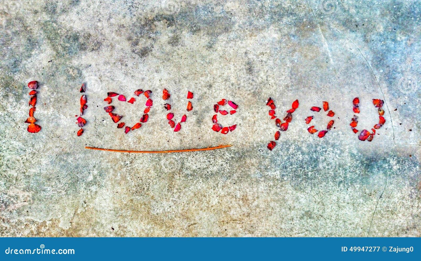 I Love You Imágenes De Stock I Love You Fotos De Stock: I Love You Stock Image. Image Of Dryflower, Petals, Heart