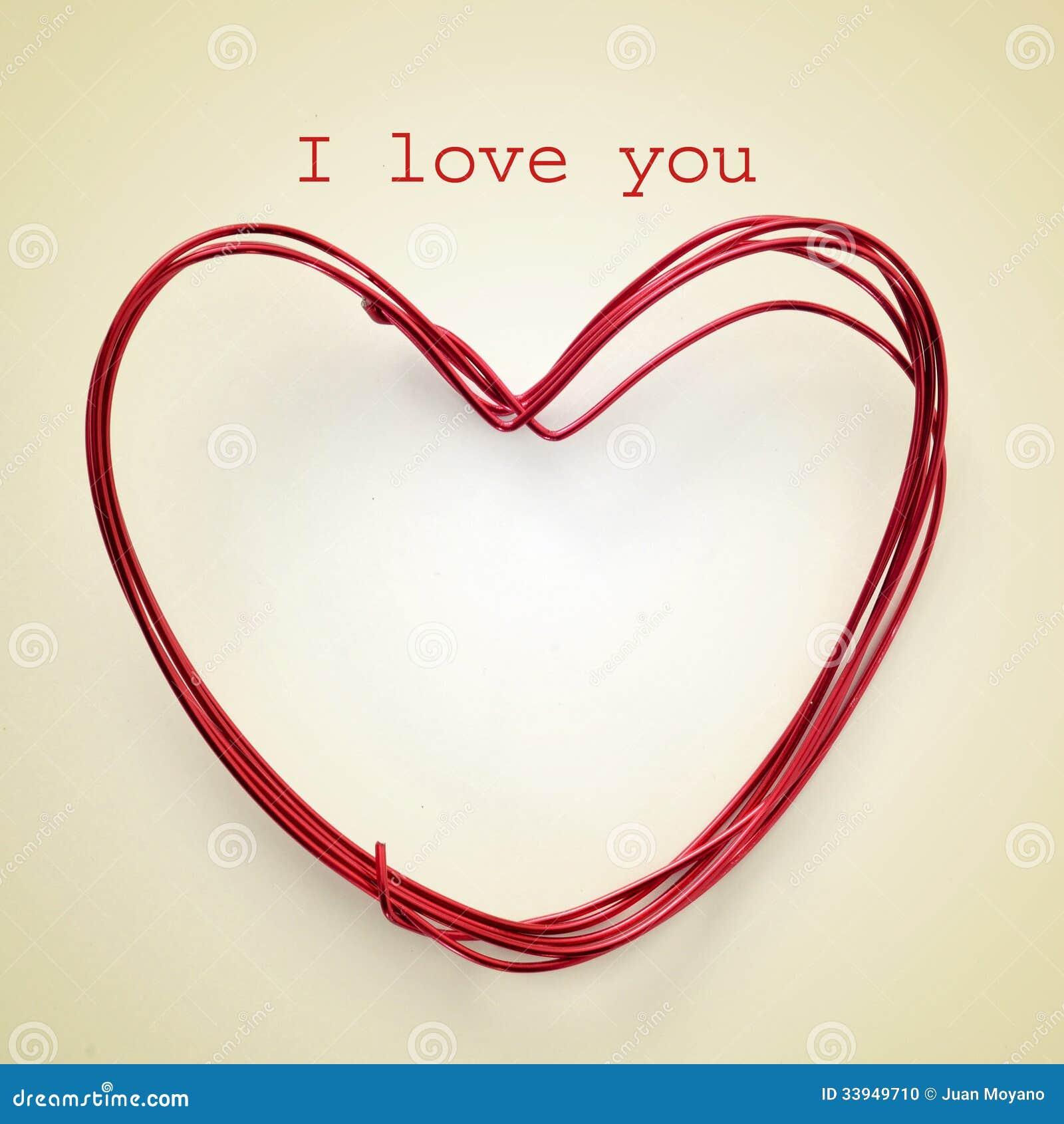 I love you stock photo  Image of design, effect, congratulate - 33949710
