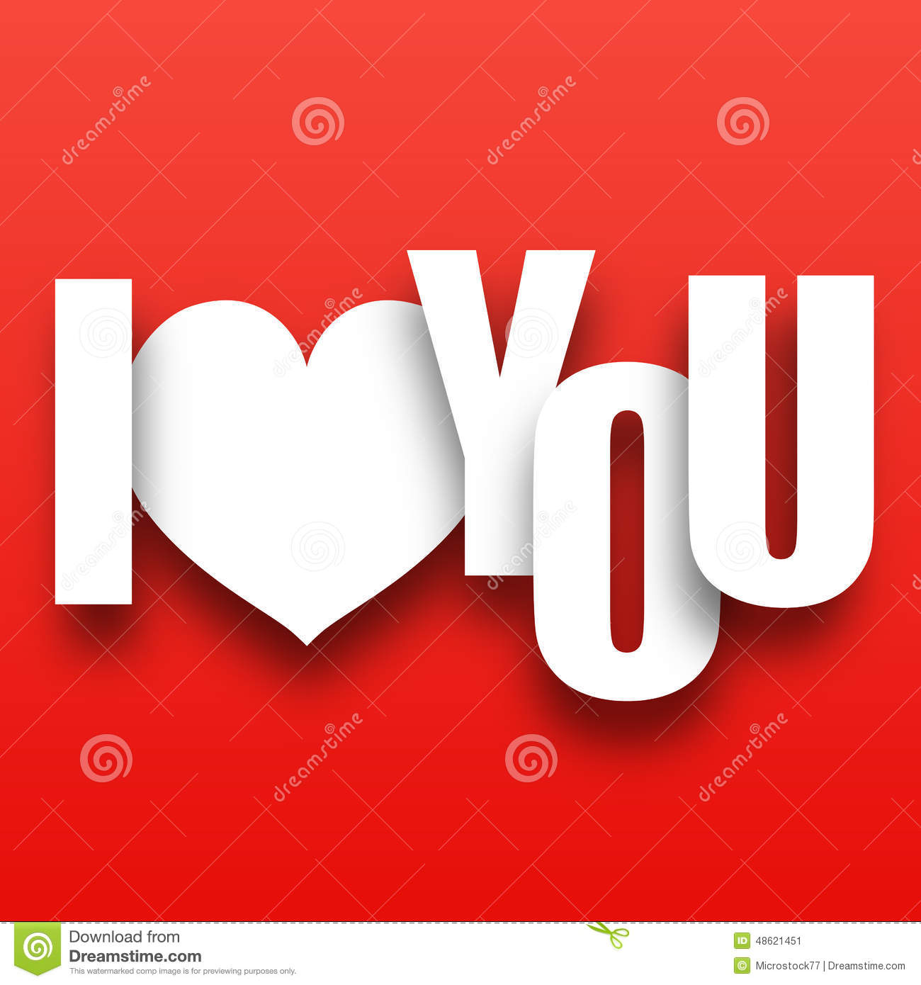 I love you text design stock vector illustration of card for I love to design