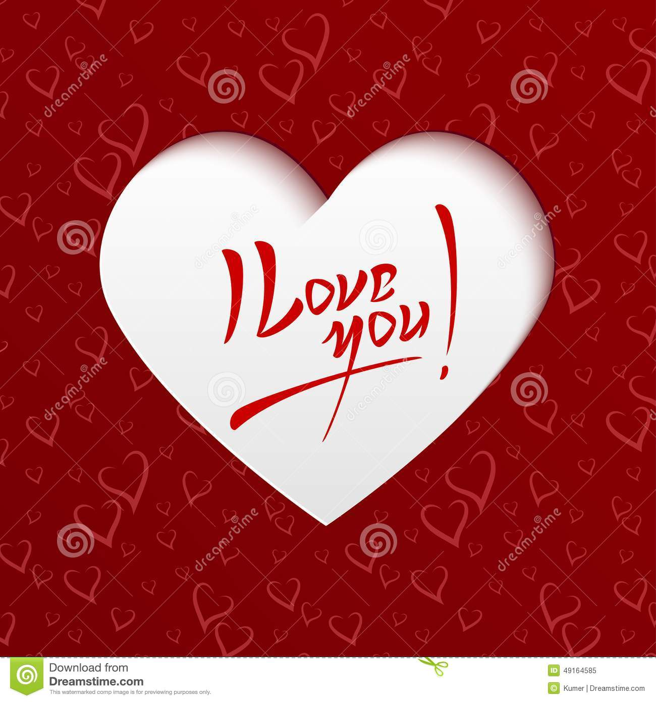 Card i love you ukrandiffusion i love you valentines day greeting card stock vector m4hsunfo