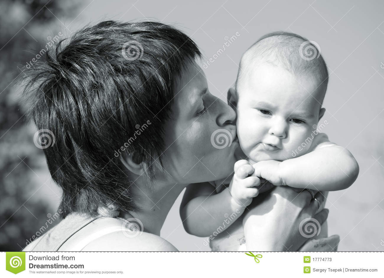 i love you very very much my wonderful baby stock photos