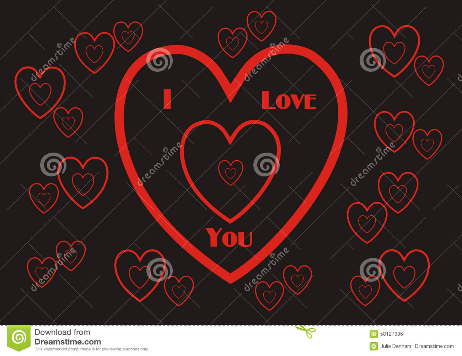I Love You Imágenes De Stock I Love You Fotos De Stock: I Love You Wallpaper Background Giftwrap Stock