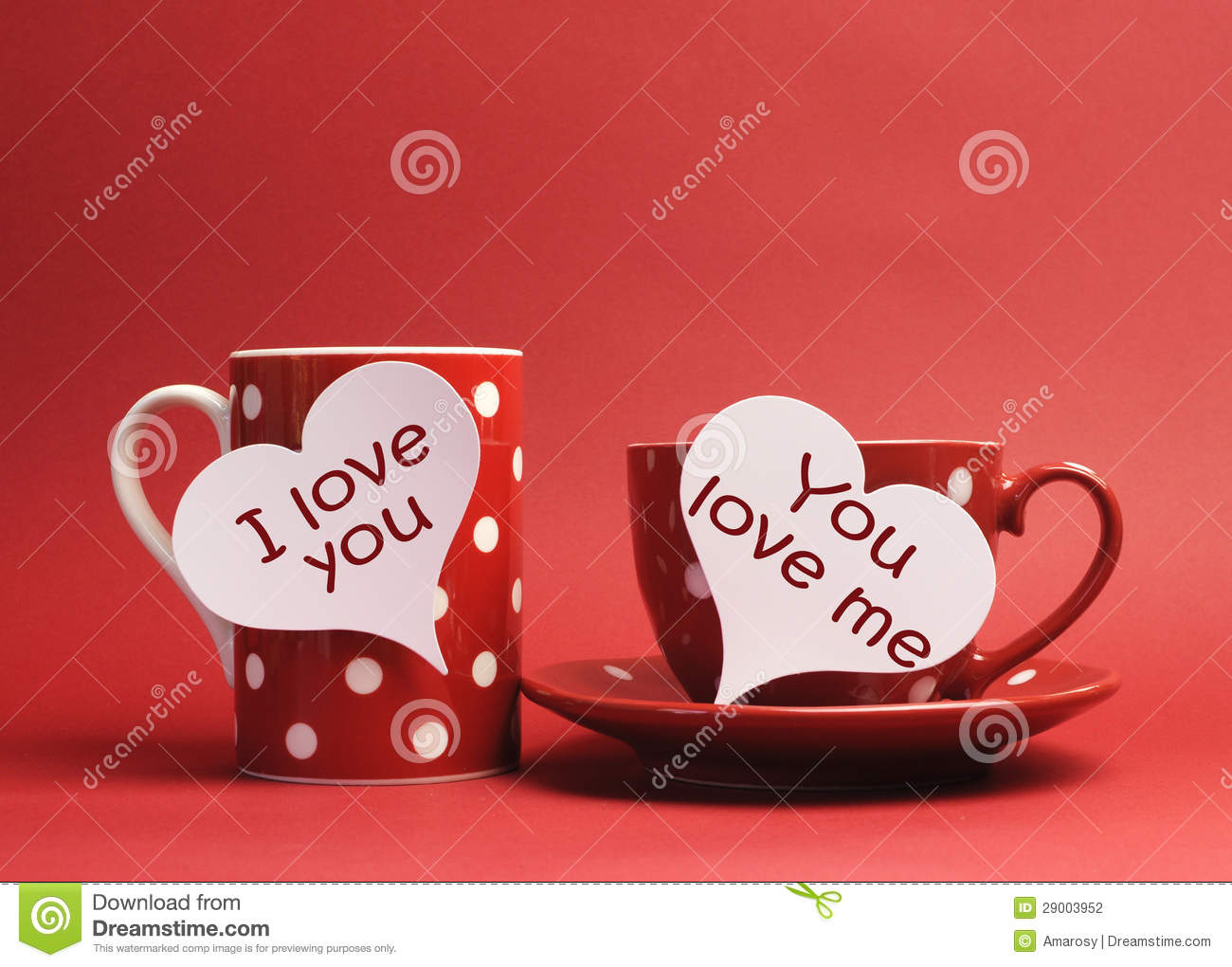 I Love You You Love Me Wallpaper : I Love You And You Love Me Messages Written On Heart Signs On cup And coffee Mug Stock Photo ...