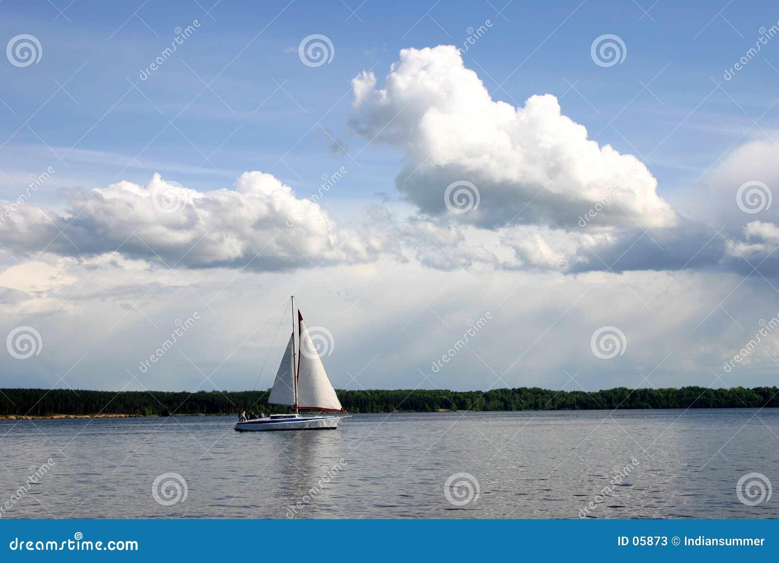 I m sailing...