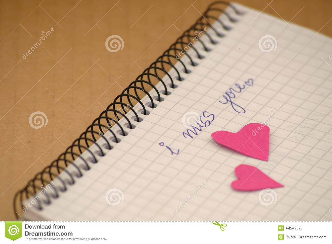 I Miss You Stock Image Image Of Lover Love Pain Scribbling