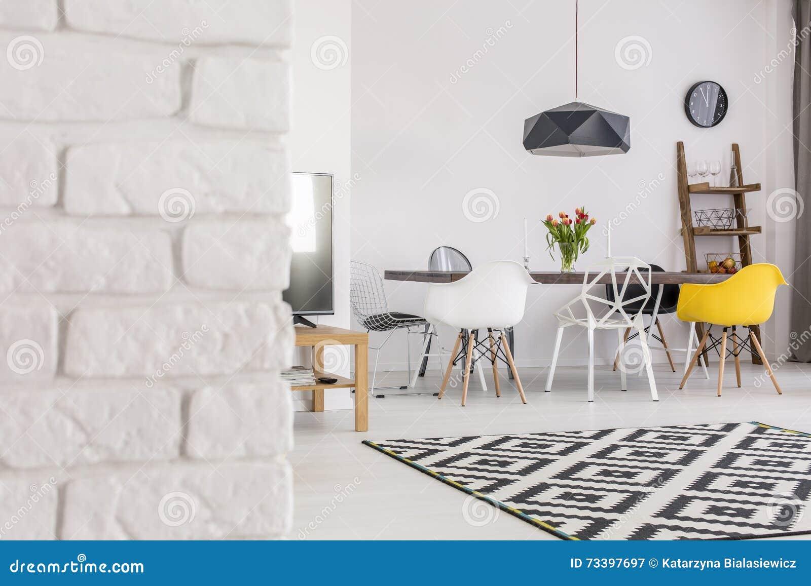 Mattoni Bianchi Per Esterni i mura di mattoni sono non solo per gli esterni immagine