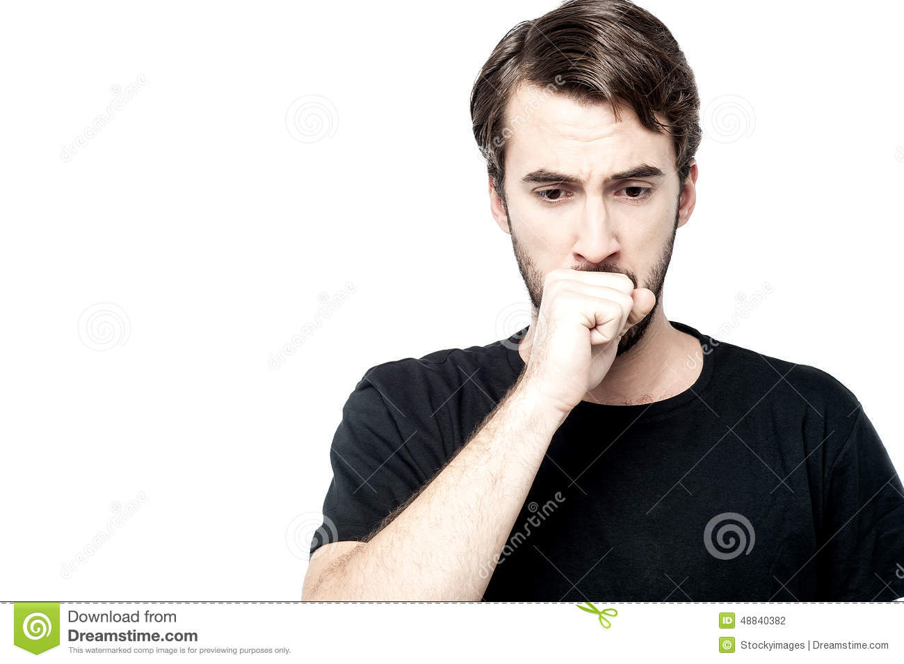 I Am Not Feeling Well Stock Photo Image Of Suffer 48840382