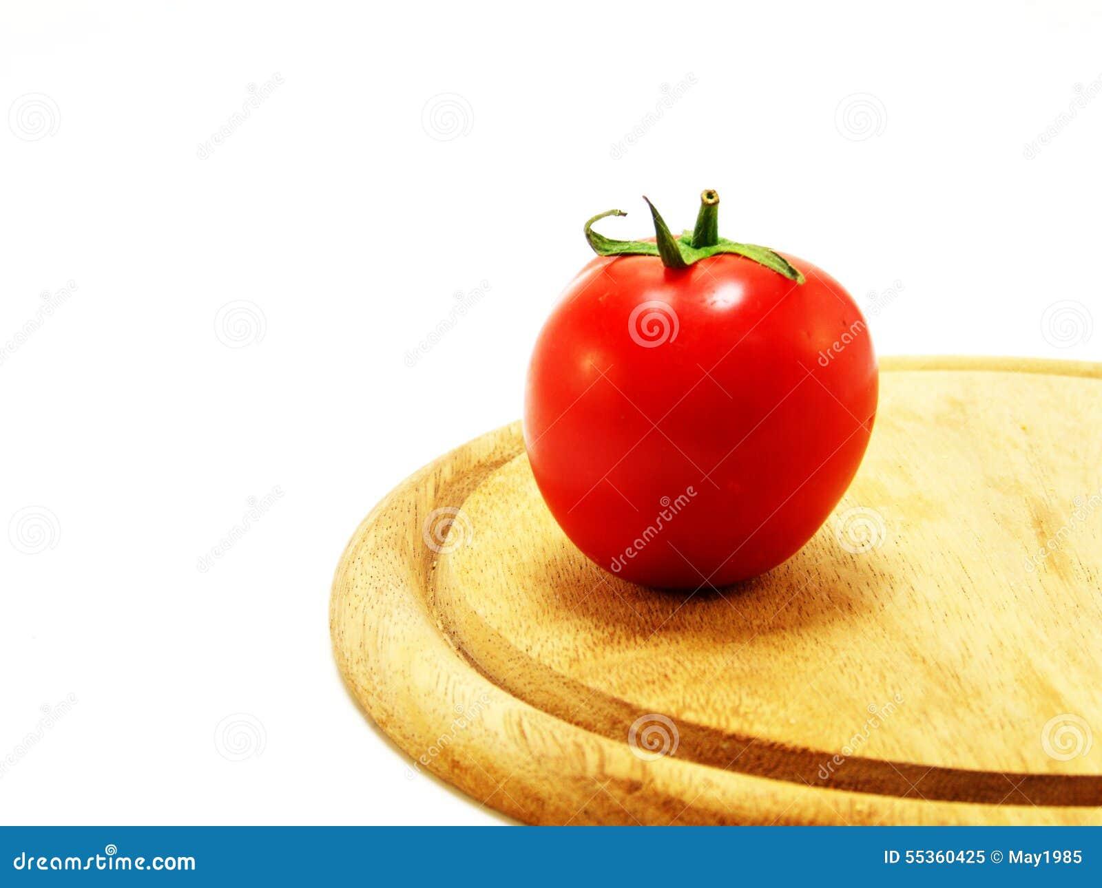 I pomodori e wodden la lavagna per appunti