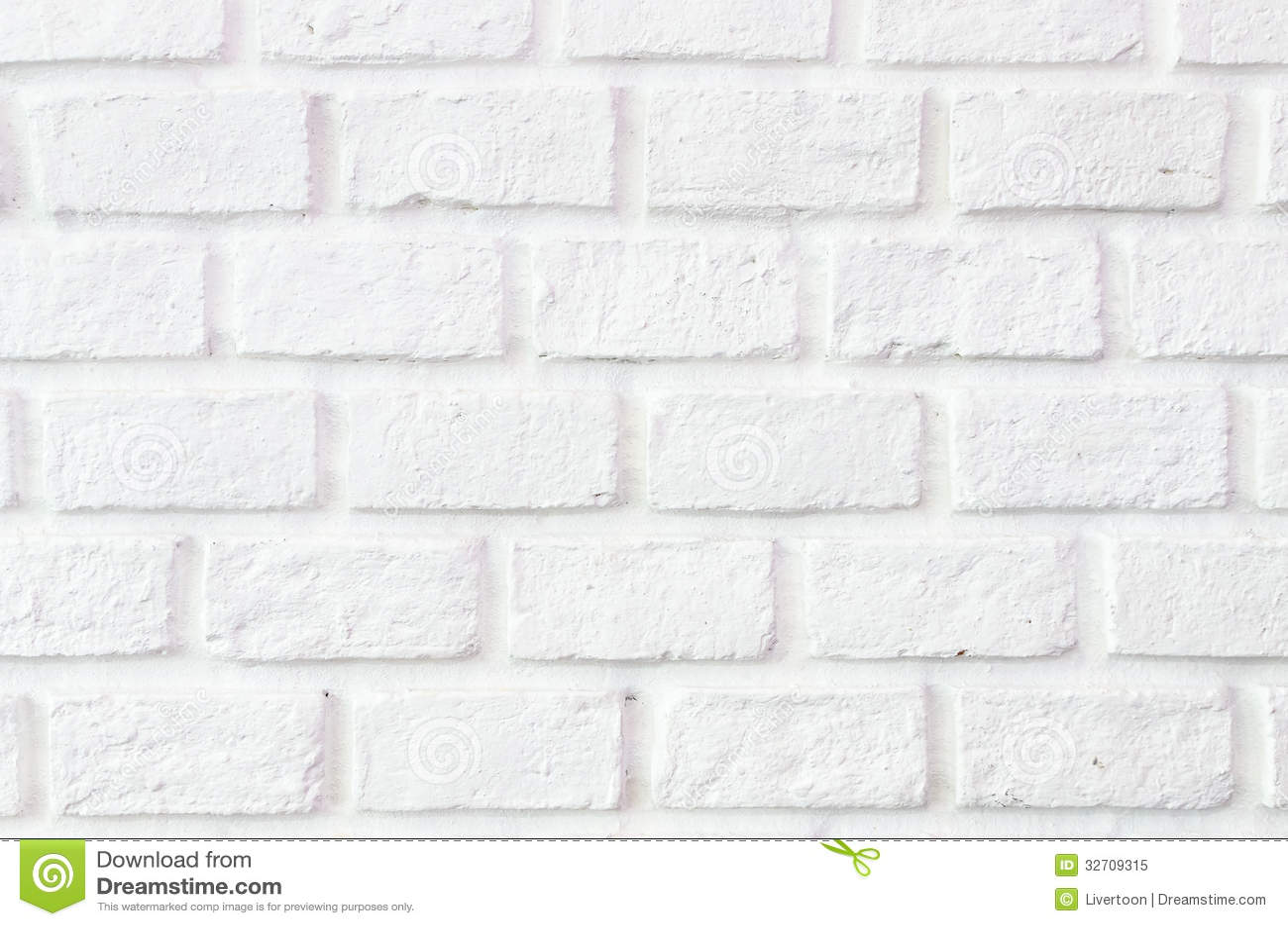 I Precedenti Bianchi Del Muro Di Mattoni Fotografia Stock Libera da Diritti - Immagine: 32709315