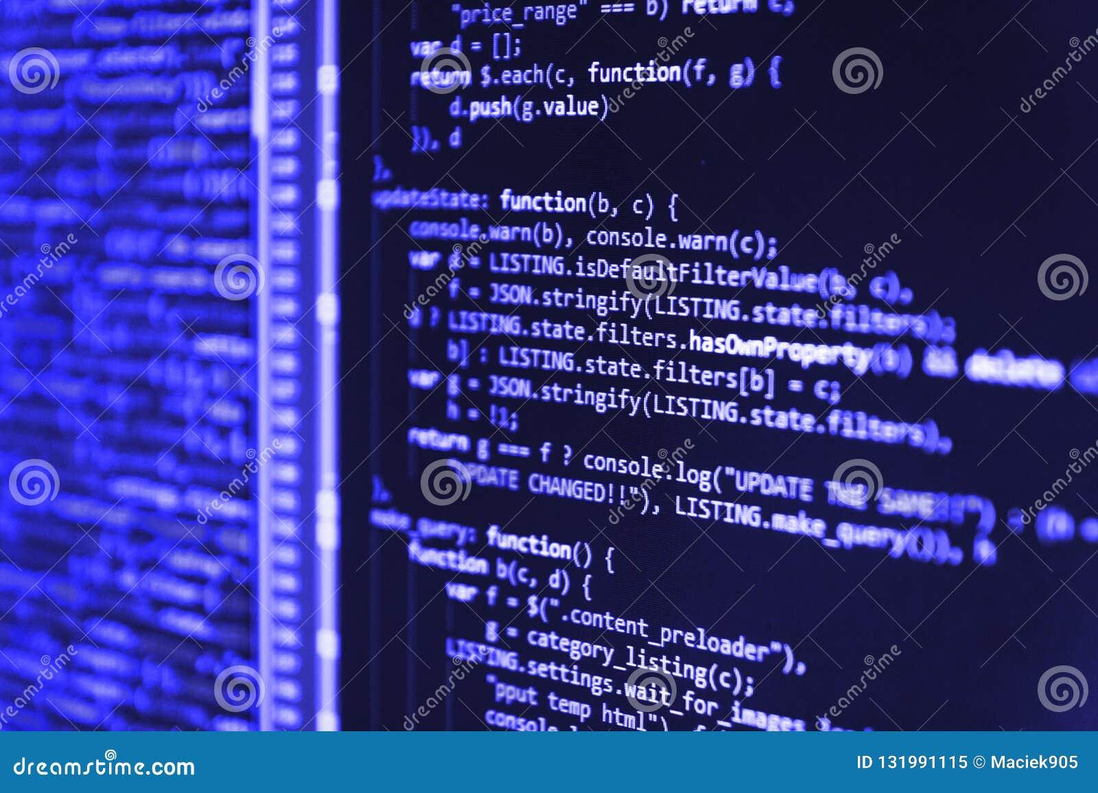 I project manager lavorano la nuova idea Grande base di dati app di dati Prevenzione del pirata informatico di sicurezza di Inter