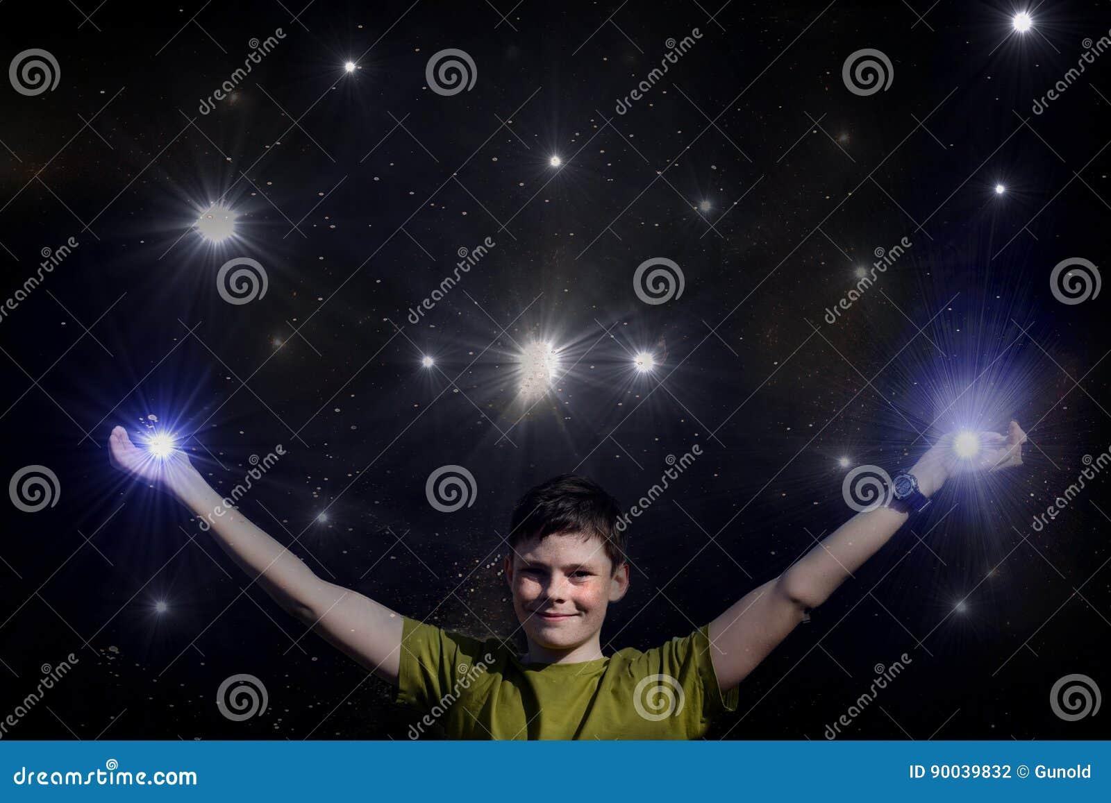 I reach the sky