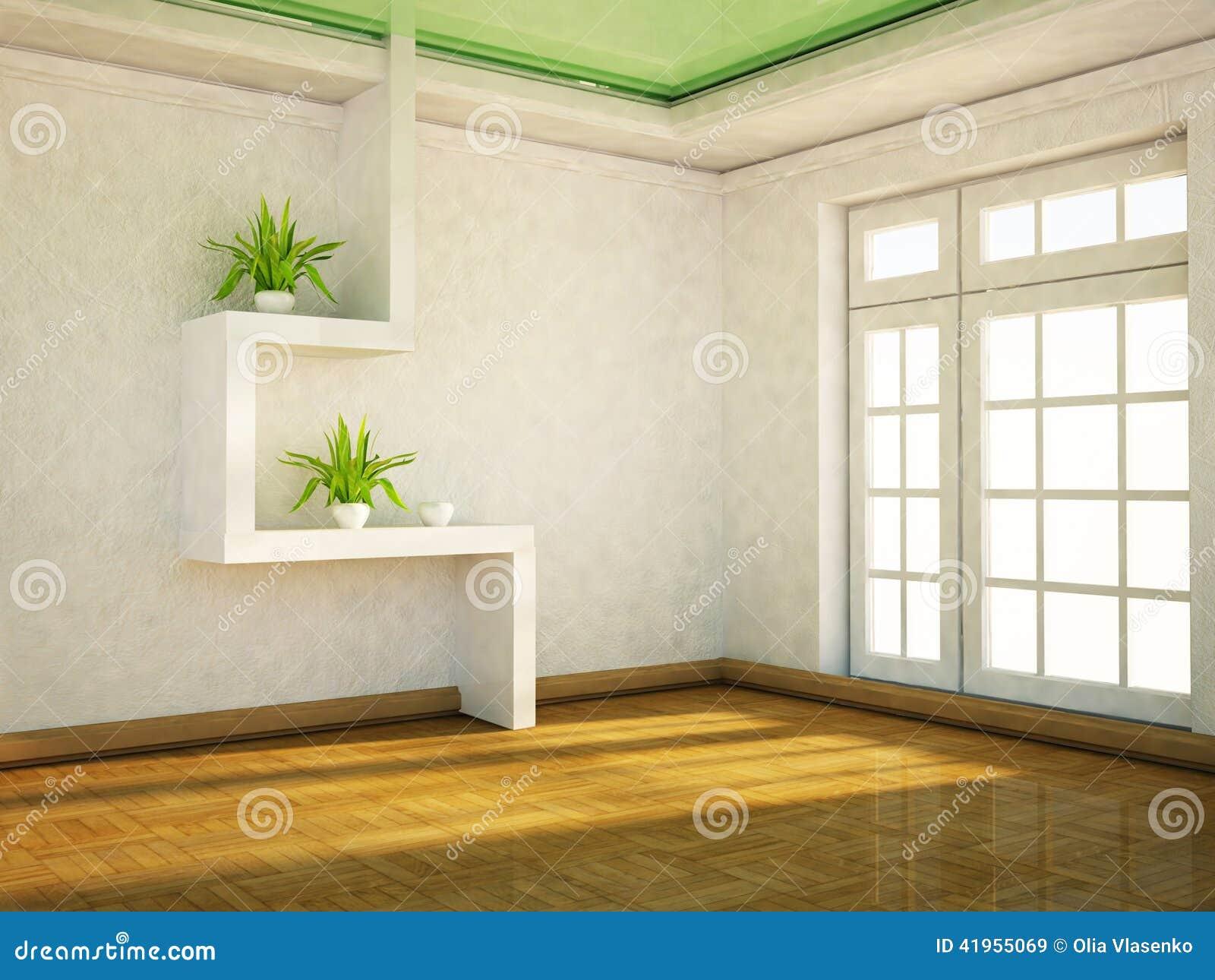 I rośliny na półkach