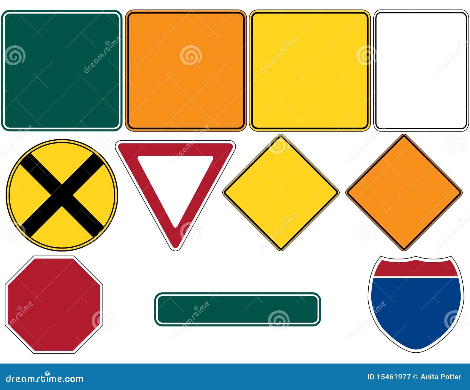 I segnali stradali hanno impostato 1