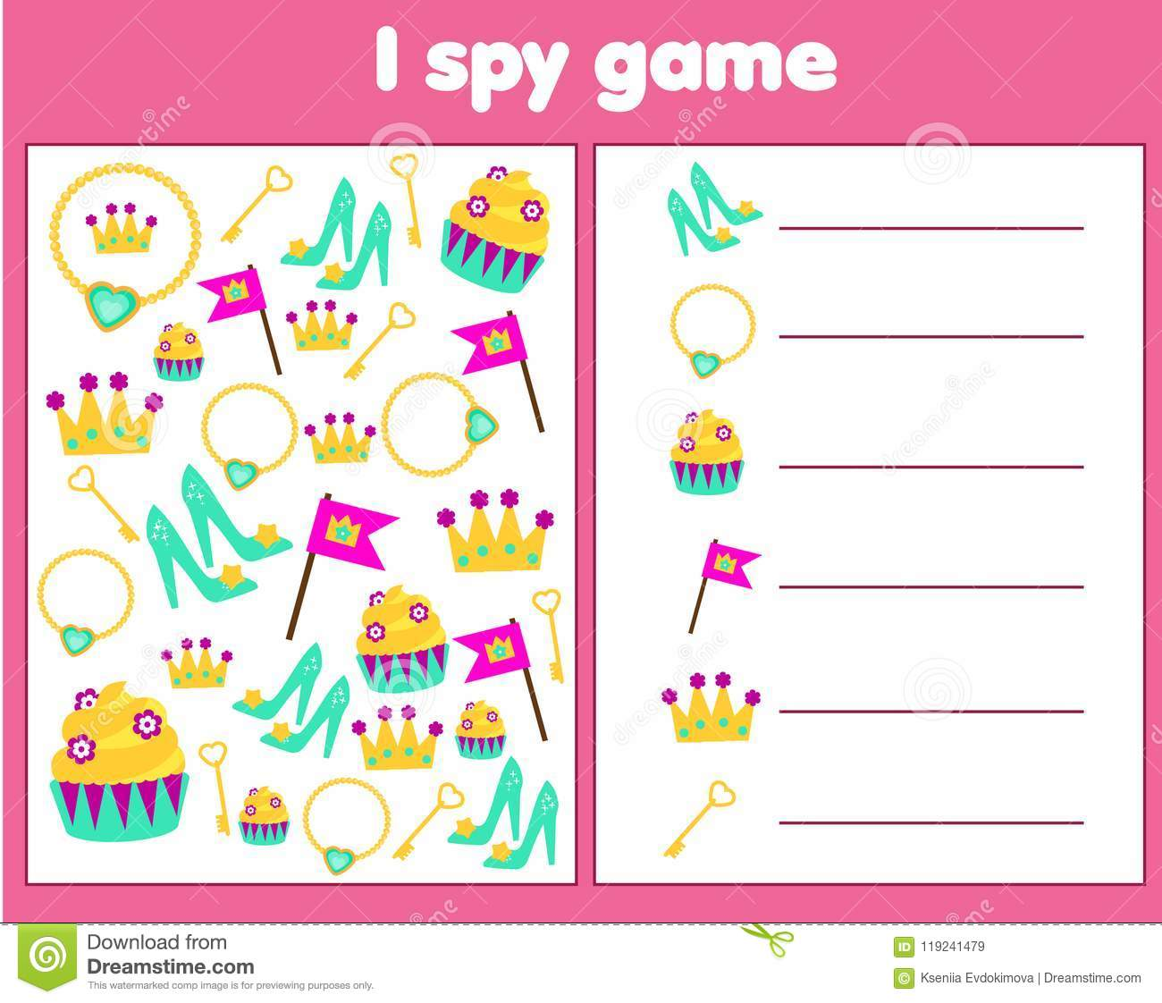 I Spy Game For Toddlers Find And Count Objects Counting