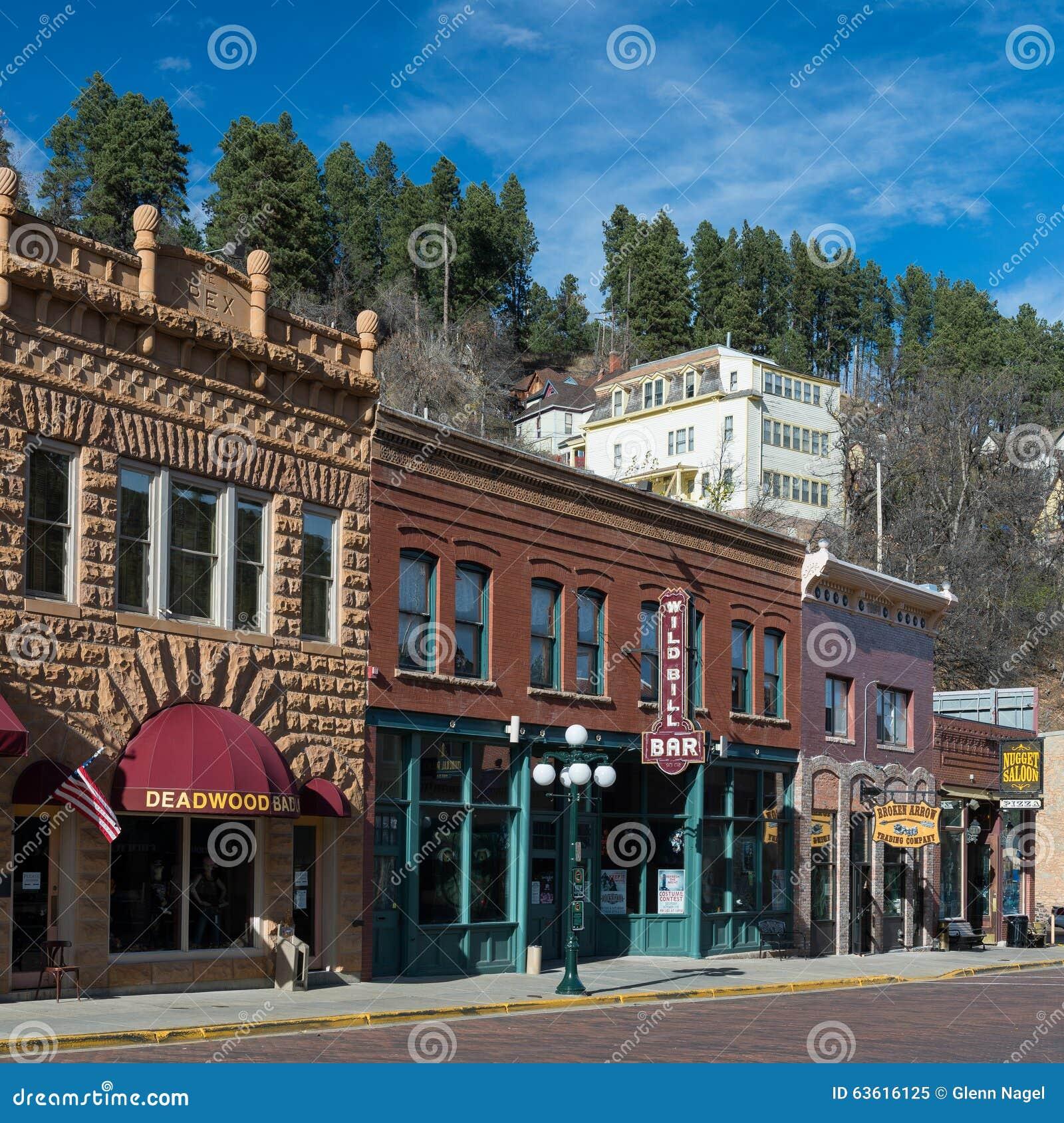 I stadens centrum Deadwood