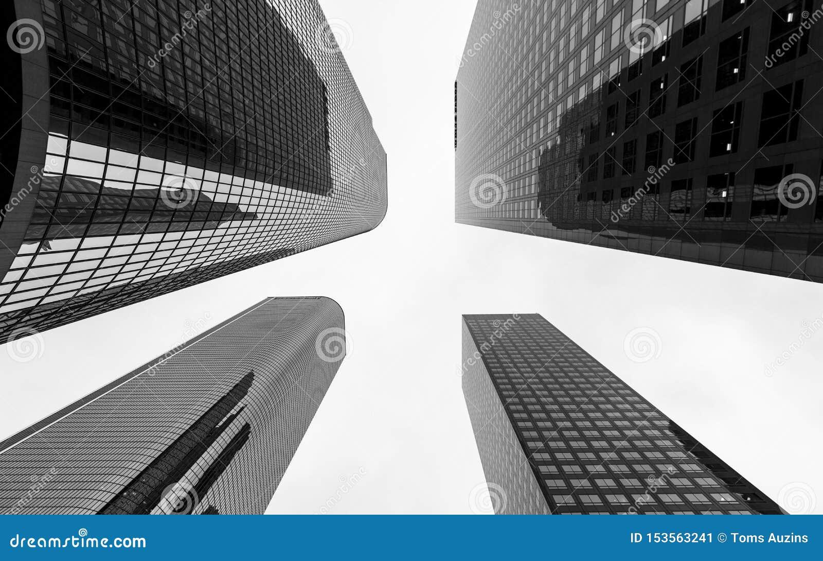 I stadens centrum finansiellt område av den Los Angeles staden, Kalifornien