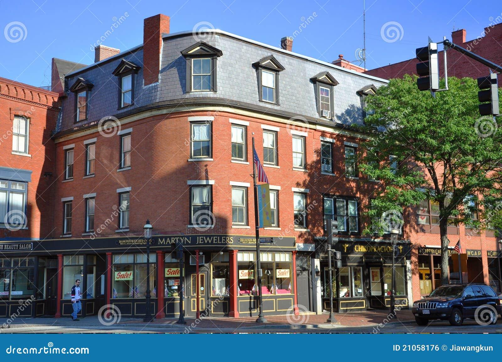 I stadens centrum historiska lowell massachusetts