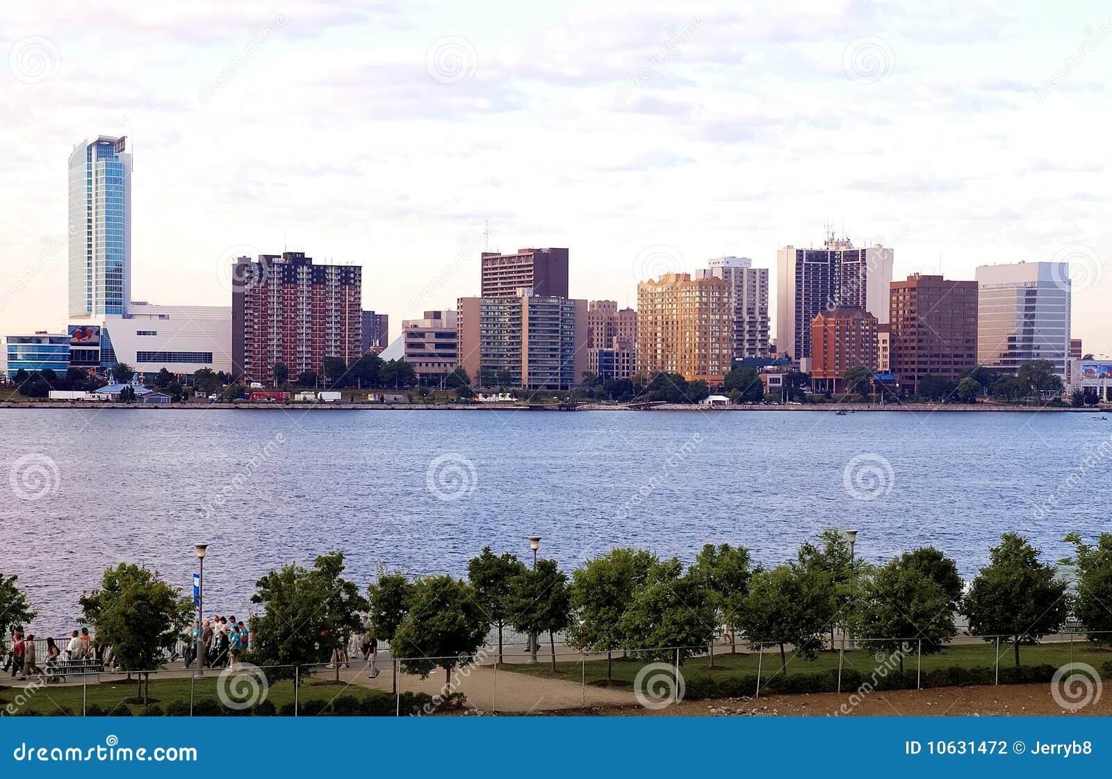I stadens centrum horisontwindsor