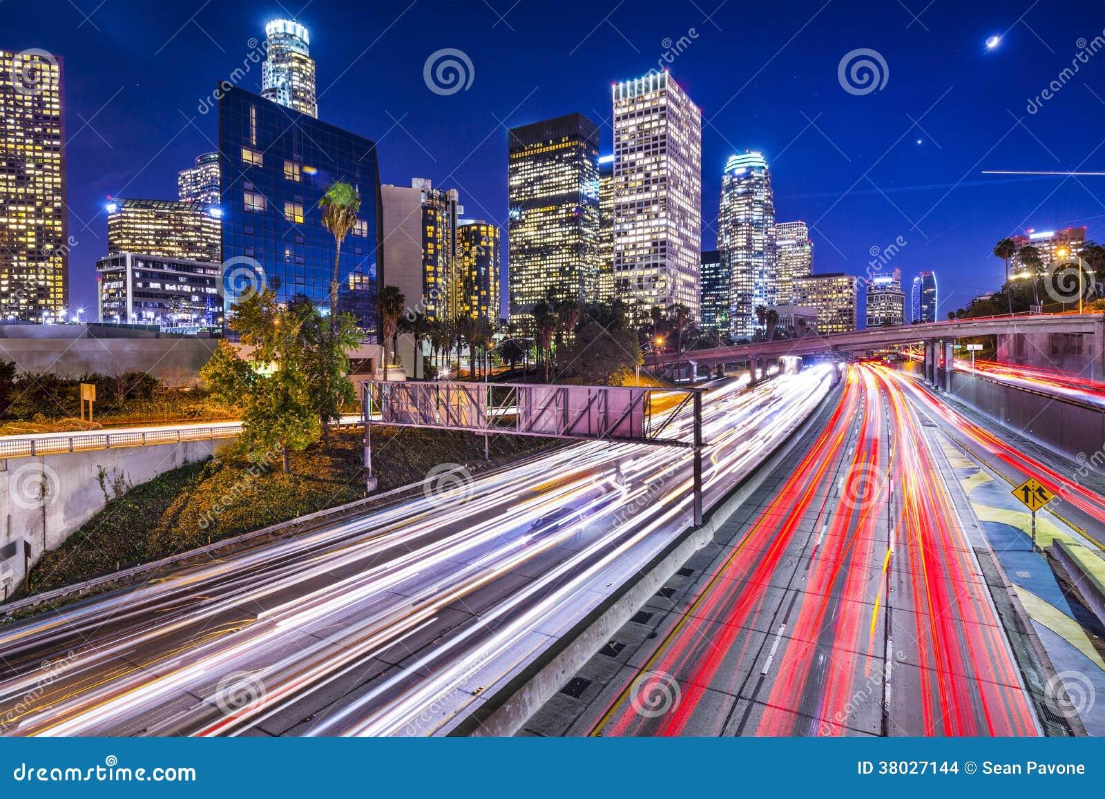 I stadens centrum Los Angeles