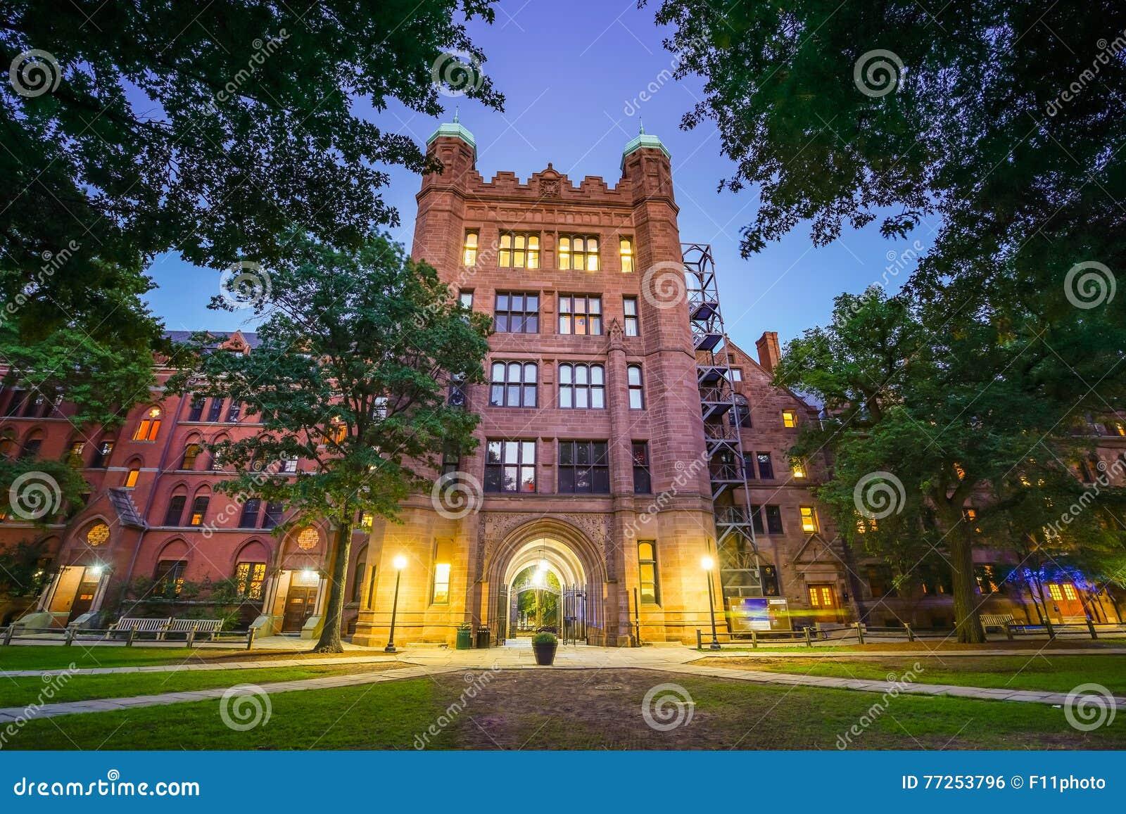 I stadens centrum New Haven och Yale University