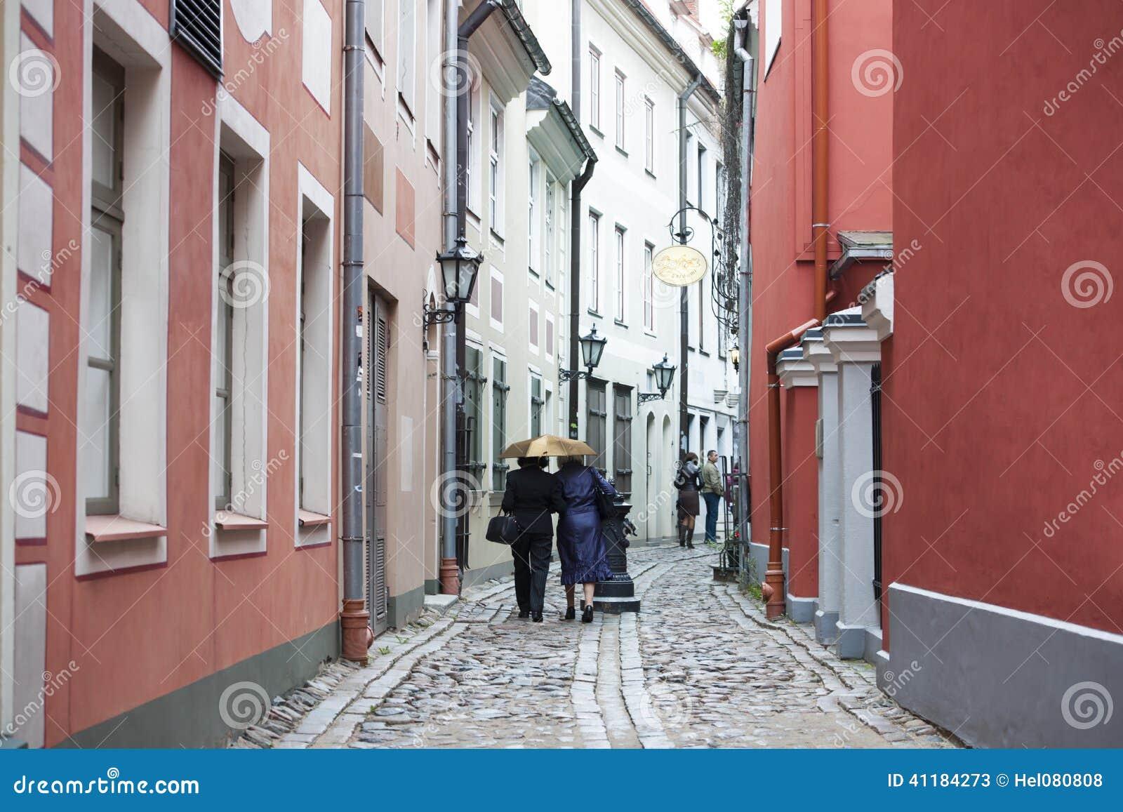 I stadens centrum Riga