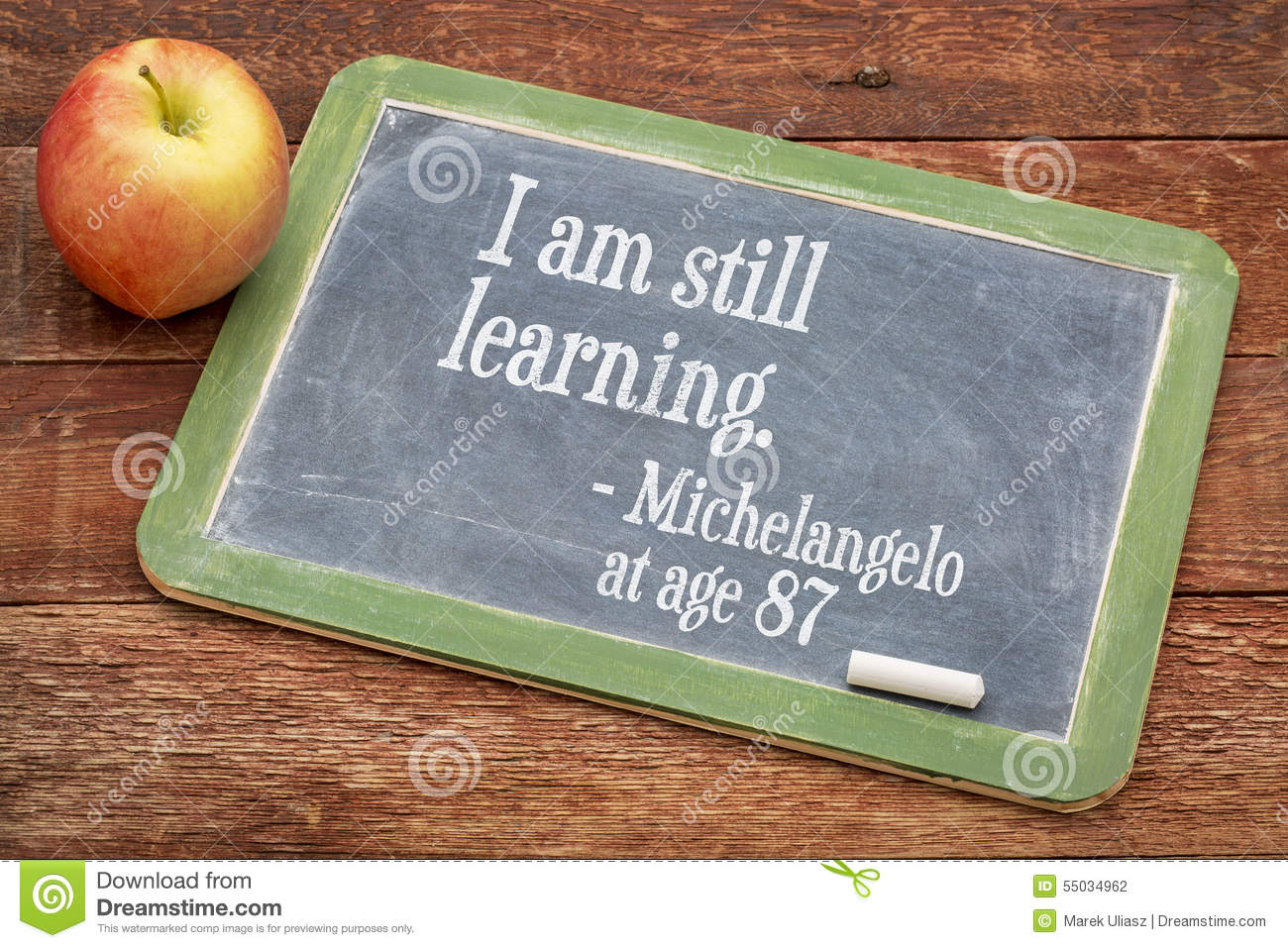 I am still learning - continuous education