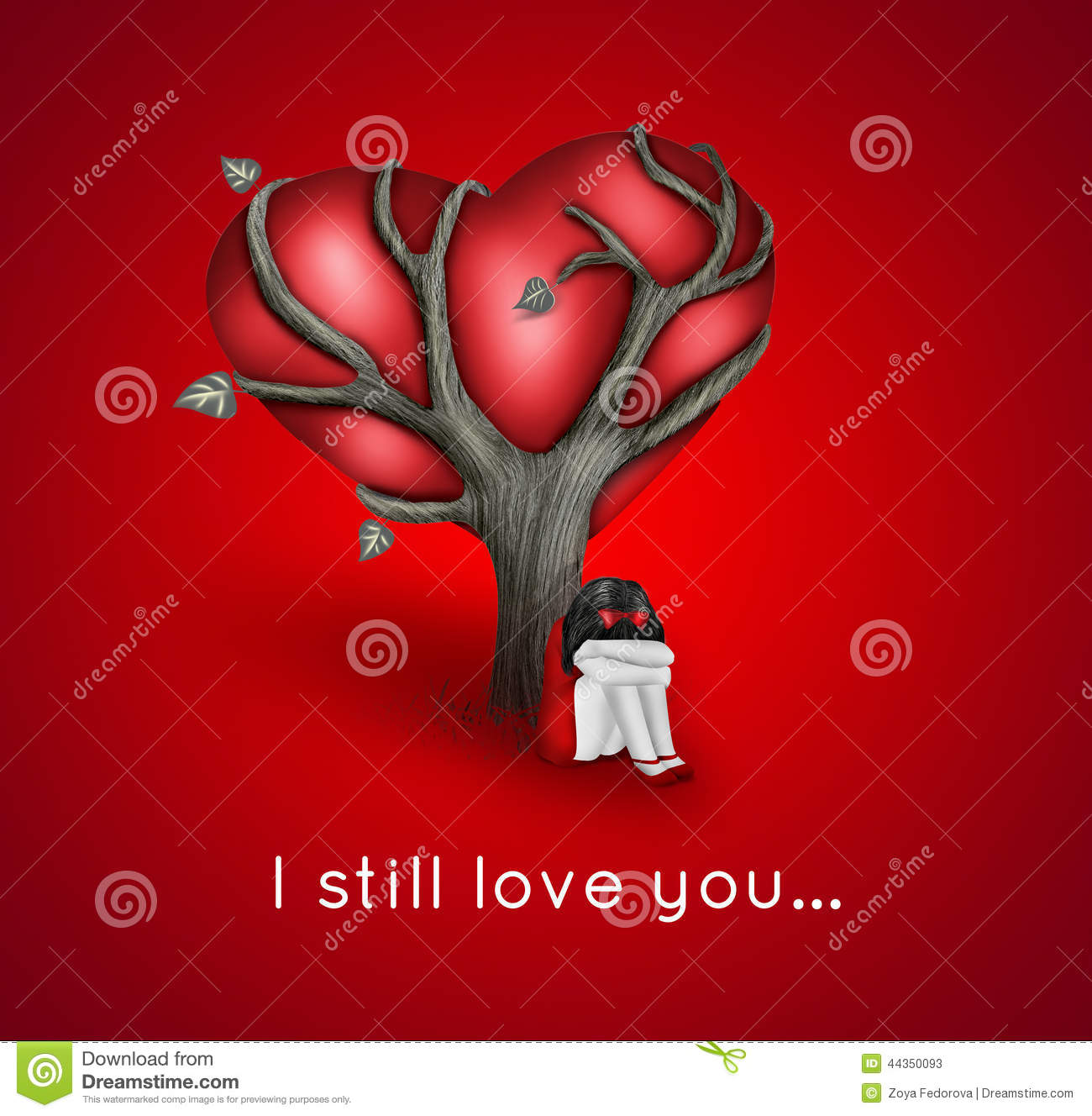 I Still Love You Stock Illustration Illustration Of Blurred 44350093