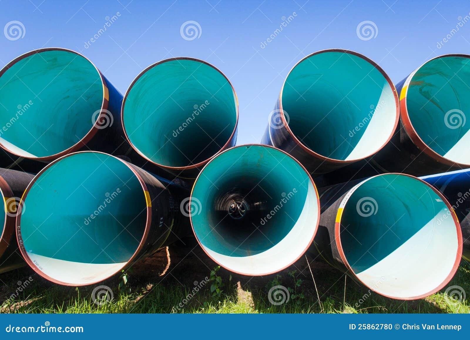 I tubi di acqua d acciaio hanno impilato la costruzione