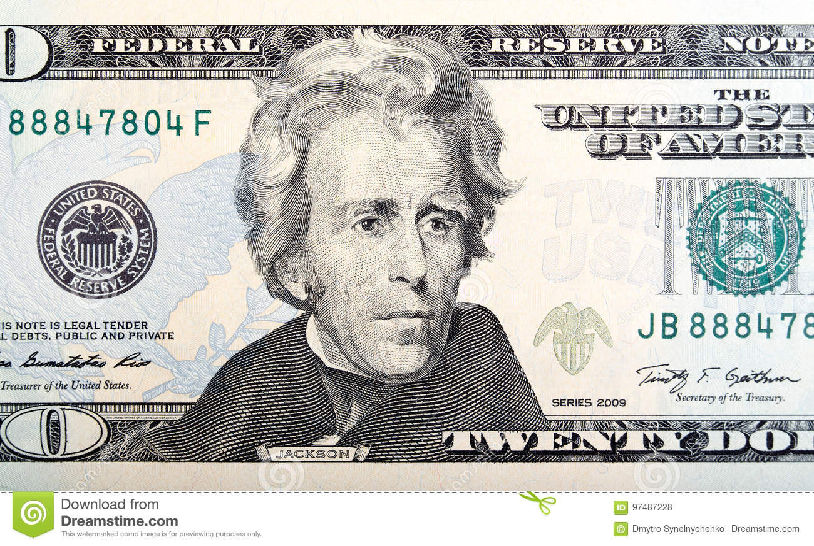 I venti U S Dollari
