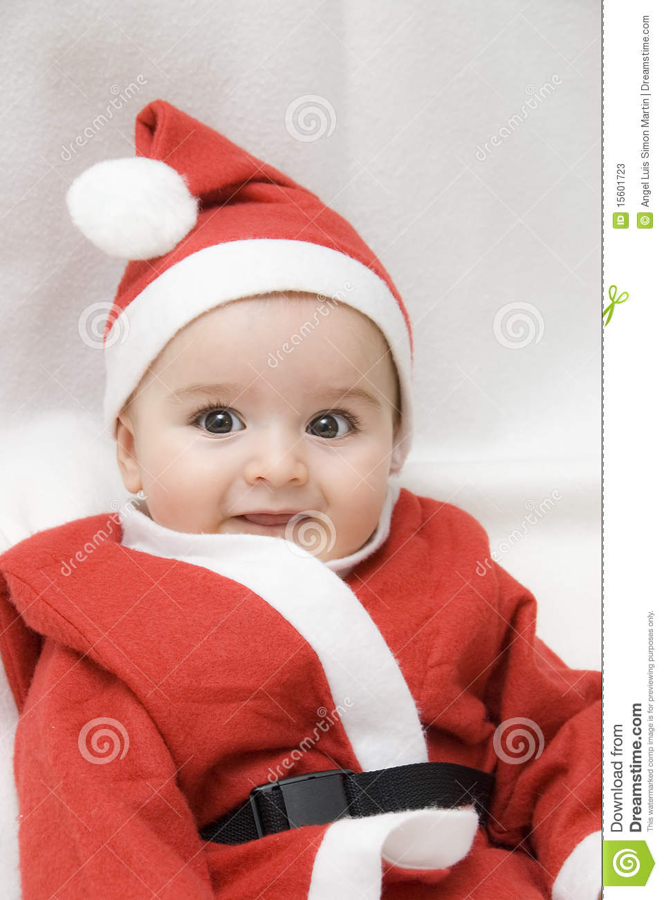 i am a very nice santa claus. stock image - image of christianity