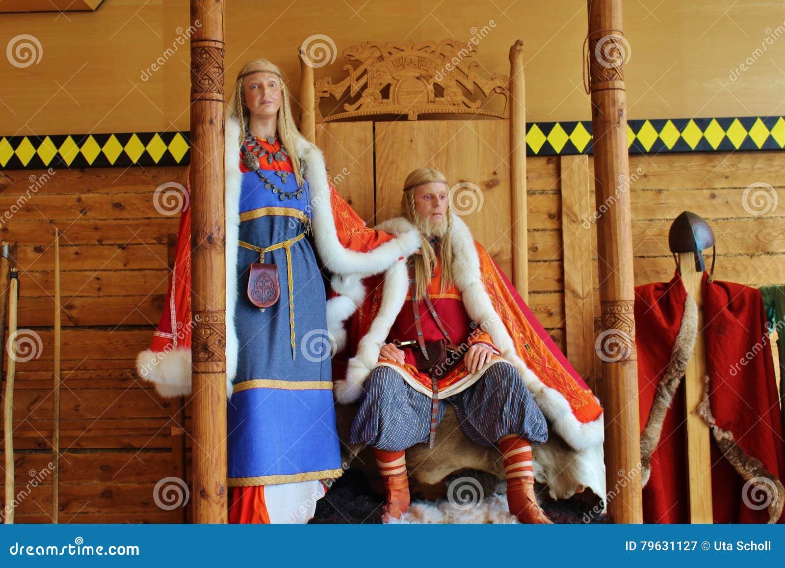 I vichingo, una coppia reale norway