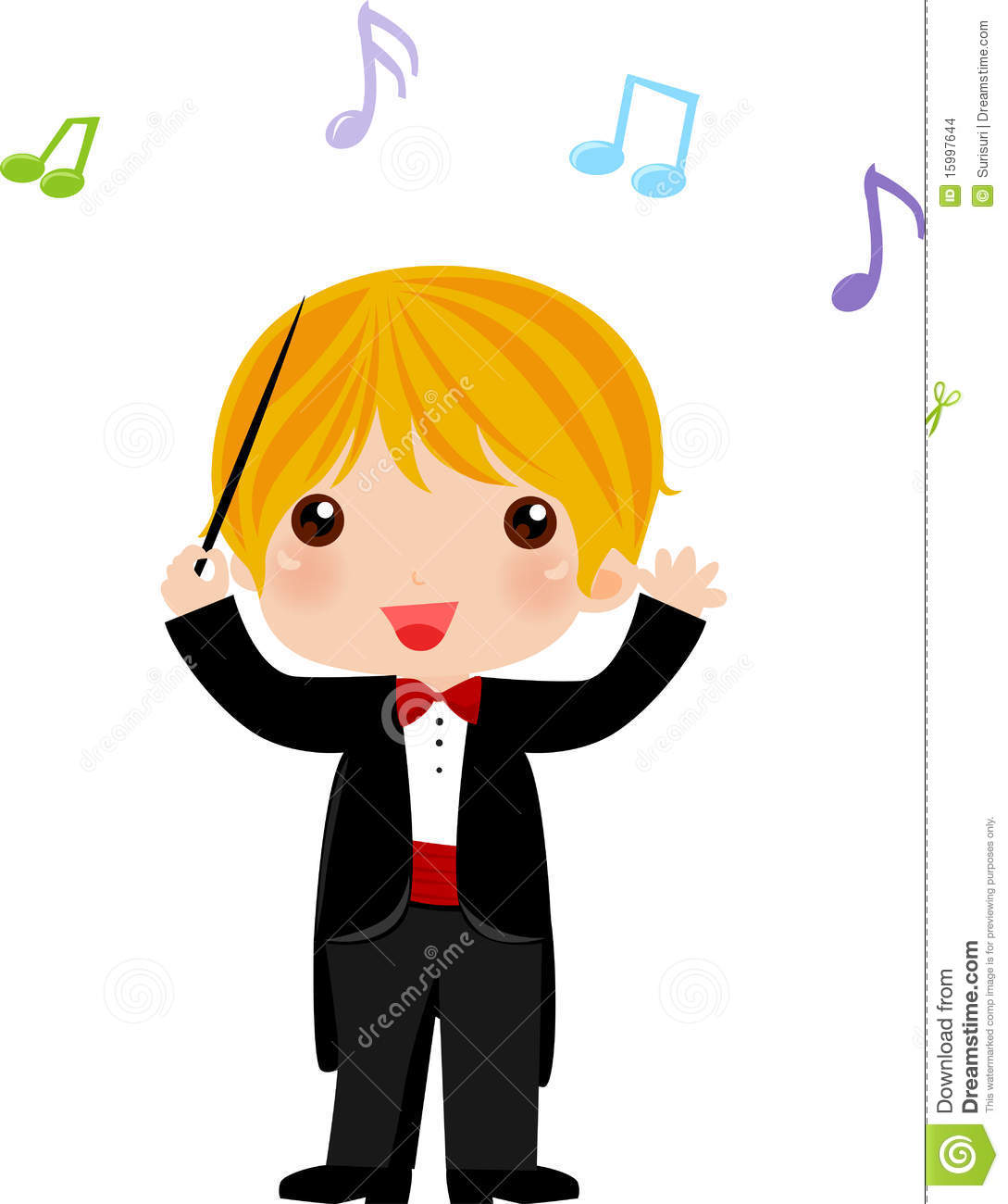 I Want To Be An Orchestra Conductor When I Grow Up Stock