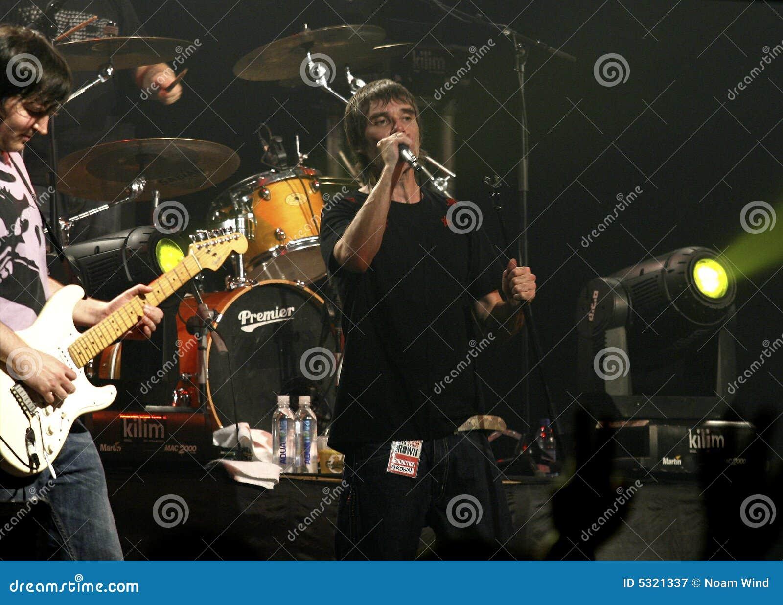 Download Ian Brown fotografia editoriale. Immagine di concerto - 5321337