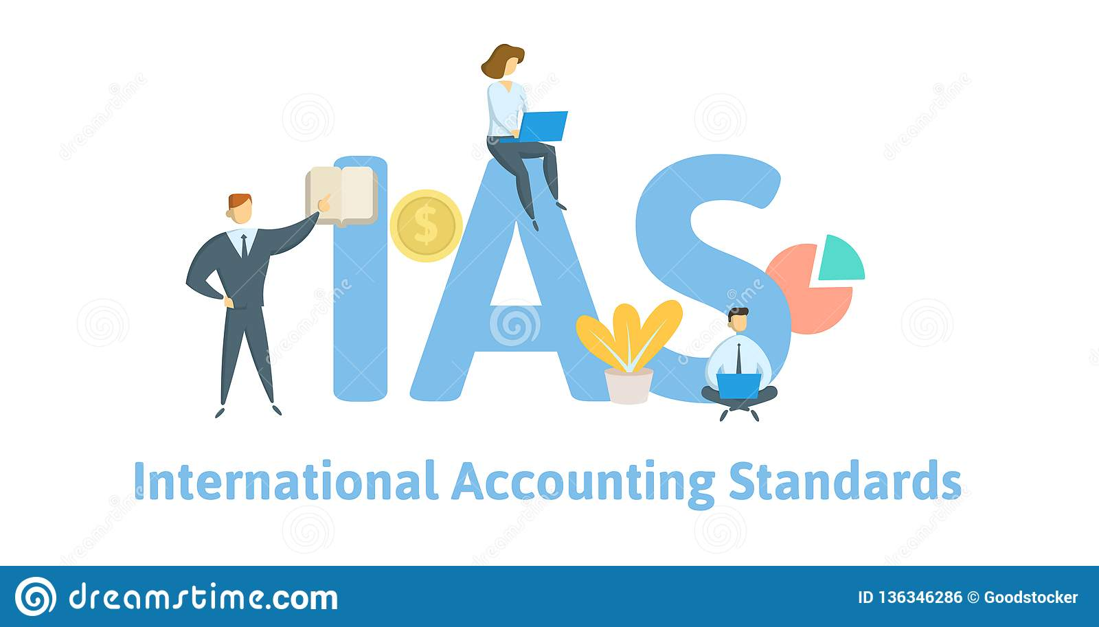 IAS, International Accounting Standards  Concept With