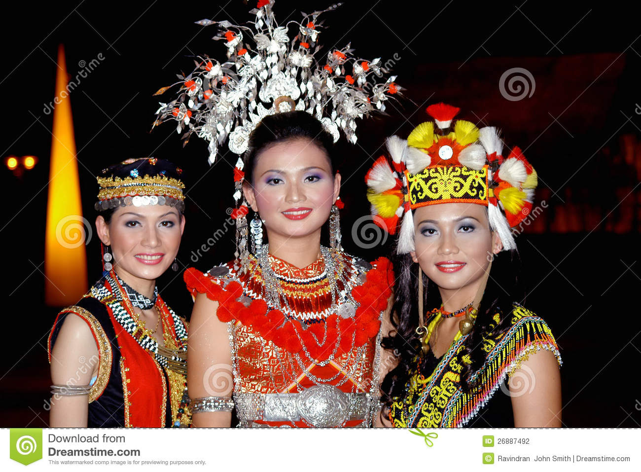 Malaysian People Clipart Iban People Editorial ...