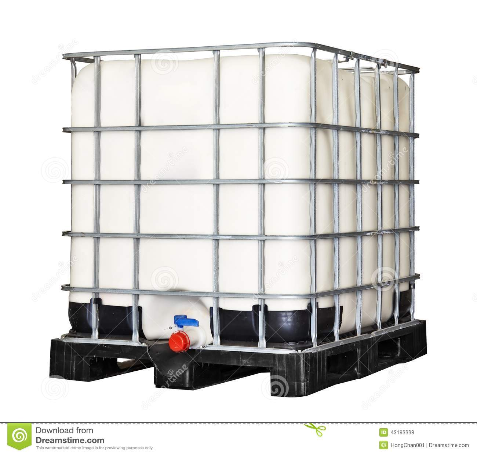 IBC Plastikowy zbiornik