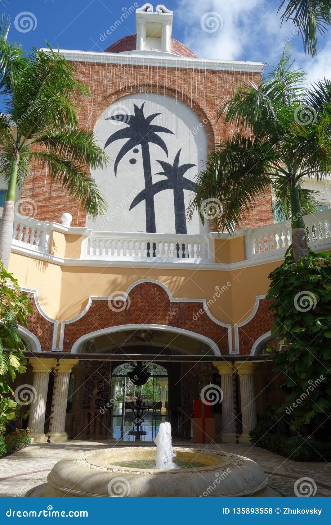 Iberostar Grand Hotel Bavaro Resort In Punta Cana Dominican Republic Editorial Stock Photo Image Of Beach Interior 135893558